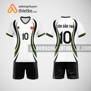 Mẫu áo bóng chuyền thiết kế họa tiết đẹp BCTK4 Nam