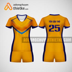 Mẫu áo bóng chuyền thiết kế màu vàng tại Bình Dương BCN5