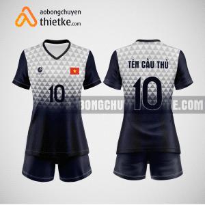 Mẫu áo bóng chuyền thiết kế tại Hà Nội BCTK5 Nữ
