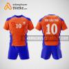 Mẫu quần áo bóng chuyền thiết kế nam màu cam BCA3