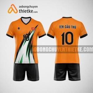 Mẫu áo bóng chuyền tự thiết kế màu Huế Amazing BCTK12 nam
