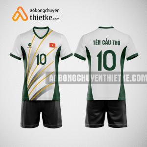 Mẫu quần áo bóng chuyền Bình Dương GreenTree BCTK10 Nam