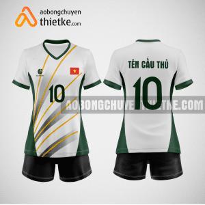 Mẫu quần áo bóng chuyền Bình Dương GreenTree BCTK10 Nữ
