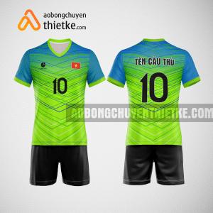 Mẫu quần áo bóng chuyền đẹp và độc green BCTK21 nam