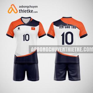 Mẫu quần áo bóng chuyền màu cam dẹp BCTK44 nam