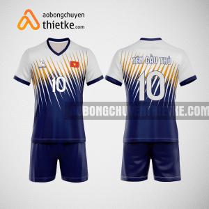 Mẫu quần áo bóng chuyền màu xanh tím than Sea surface BCTK19 nam