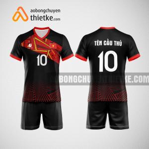 Mẫu quần áo bóng chuyền thiết kế Bắc Giang PLAC BCTK13 nam