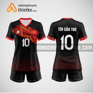 Mẫu quần áo bóng chuyền thiết kế Bắc Giang PLAC BCTK13 nữ
