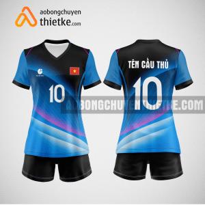 Mẫu quần áo bóng chuyền thiết kế Đà Nẵng BlueSky BCTK9 Nữ