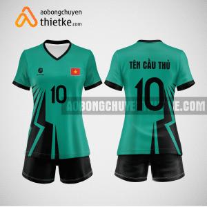 Mẫu quần áo bóng chuyền thiết kế Forest BCTK20 nữ