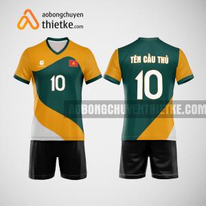 Mẫu quần áo bóng chuyền thiết kế Golden rice flower BCTK34 nam