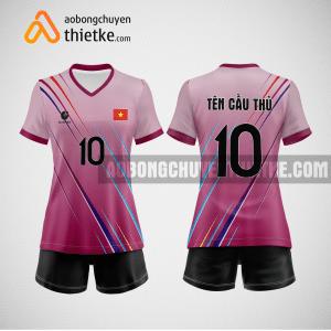 Mẫu quần áo bóng chuyền thiết kế Hà Nội BCTK8 Nữ