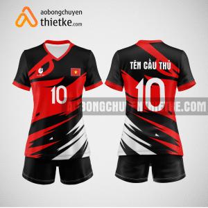 Mẫu quần áo bóng chuyền thiết kế Hàn Quốc BCTK26 nữ