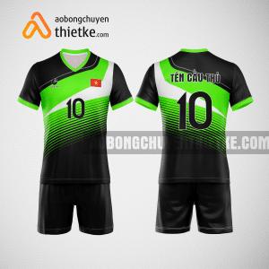Mẫu quần áo bóng chuyền thiết kế Ninh Bình Green BCTK16 nam