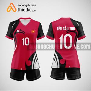 Mẫu quần áo bóng chuyền thiết kế giá rẻ BCTK27 nữ
