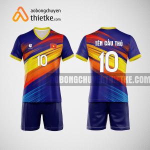 Mẫu quần áo bóng chuyền thiết kế multicolor BCTK22 nam