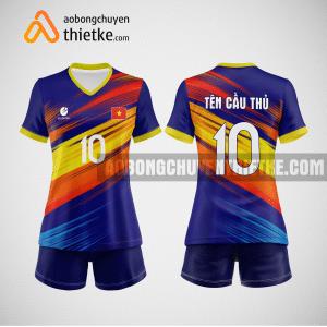 Mẫu quần áo bóng chuyền thiết kế multicolor BCTK22 nữ