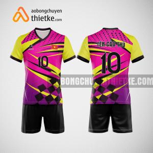Mẫu quần áo bóng chuyền tự thiết kế Hà Giang BCTK25 nam