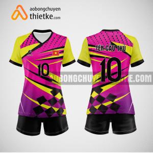 Mẫu quần áo bóng chuyền tự thiết kế Hà Giang BCTK25 nữ
