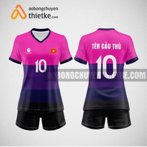 Mẫu quần áo thi đấu bóng chuyền giá rẻ BCTK40 nữ