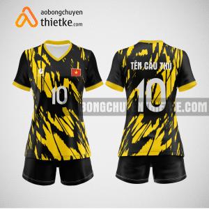 Mẫu áo bóng chuyền đặt may theo yêu cầu tại bình định BCN433 nữ