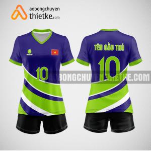 Mẫu áo bóng chuyền đặt may theo yêu cầu tại đà nẵng BCN116 nữ
