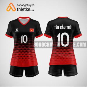 Mẫu áo bóng chuyền đặt may theo yêu cầu tại gia lai BCN76 nữ