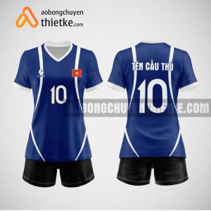 Mẫu áo bóng chuyền đặt may theo yêu cầu tại hà nam BCN78 nữ