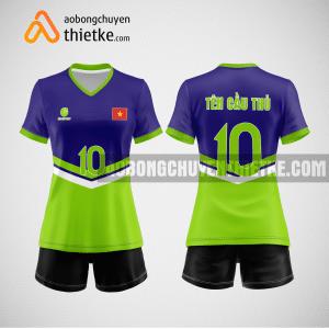 Mẫu áo bóng chuyền đặt may theo yêu cầu tại hải phòng BCN117 nữ