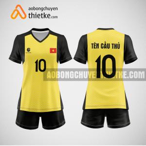 Mẫu áo bóng chuyền đặt may theo yêu cầu tại hòa bình BCN82 nữ