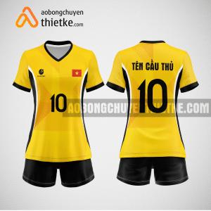 Mẫu áo bóng chuyền đặt may theo yêu cầu tại kiên giang BCN85 nữ