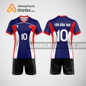Mẫu áo bóng chuyền đặt may theo yêu cầu tại lai châu BCN86 nam