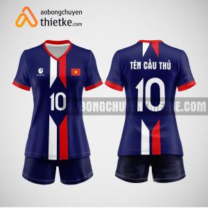Mẫu áo bóng chuyền đặt may theo yêu cầu tại lạng sơn BCN88 nữ