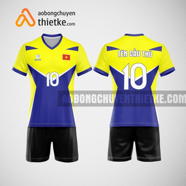 Mẫu áo bóng chuyền đặt may theo yêu cầu tại nam định BCN91 nam