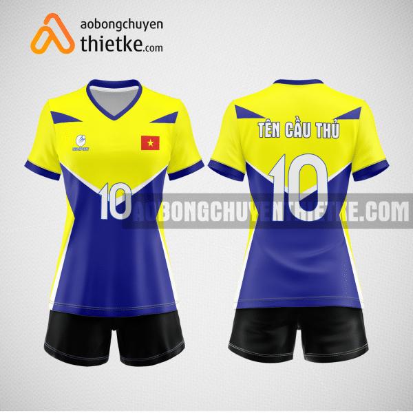 Mẫu áo bóng chuyền đặt may theo yêu cầu tại nam định BCN91 nữ