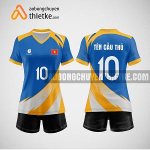 Mẫu áo bóng chuyền đặt may theo yêu cầu tại phú yên BCN114 nữ