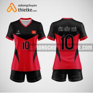 Mẫu áo bóng chuyền đặt may theo yêu cầu tại quảng bình BCN96 nữ