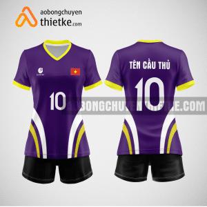 Mẫu áo bóng chuyền đặt may theo yêu cầu tại sơn la BCN102 nữ