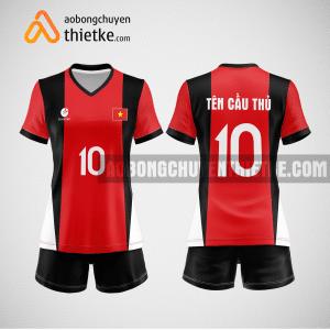 Mẫu áo bóng chuyền đặt may theo yêu cầu tại thái bình BCN104 nữ