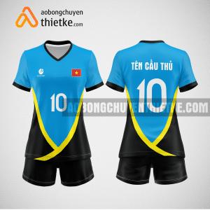 Mẫu áo bóng chuyền đặt may theo yêu cầu tại thái nguyên BCN105 nữ