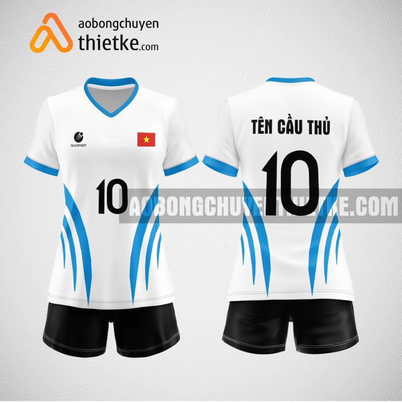 Mẫu áo bóng chuyền đặt may theo yêu cầu tại thanh hóa BCN106 nữ