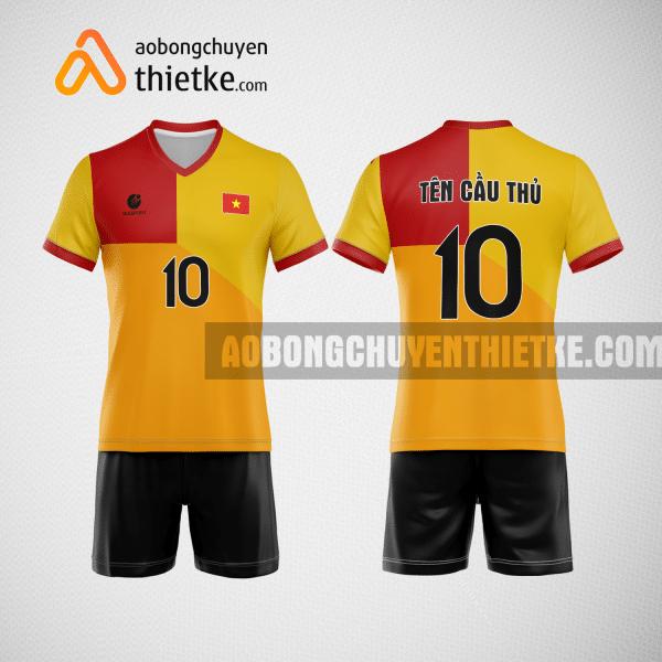 Mẫu áo bóng chuyền đặt may theo yêu cầu tại tphcm BCN119 nam