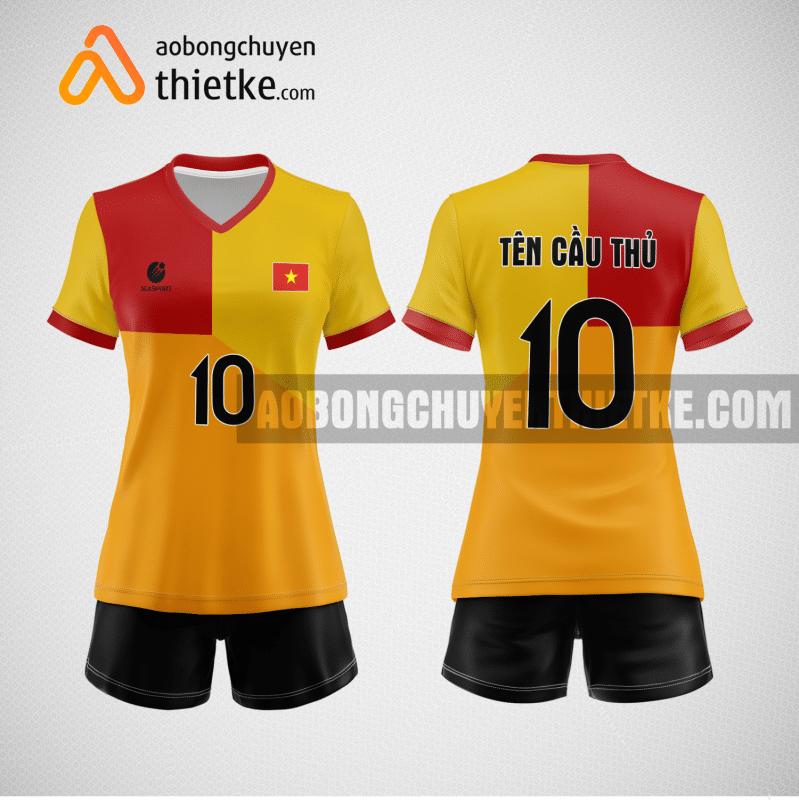 Mẫu áo bóng chuyền đặt may theo yêu cầu tại tphcm BCN119 nữ