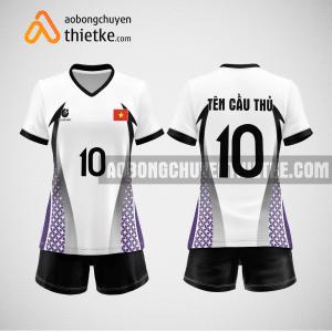 Mẫu áo bóng chuyền đặt may theo yêu cầu tại tuyên quang BCN110 nữ