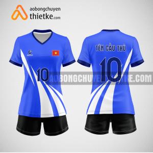 Mẫu áo bóng chuyền đặt may theo yêu cầu tại yên bái BCN113 nữ