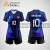 Mẫu áo bóng chuyền đội tuyển USA BCN438 nữ