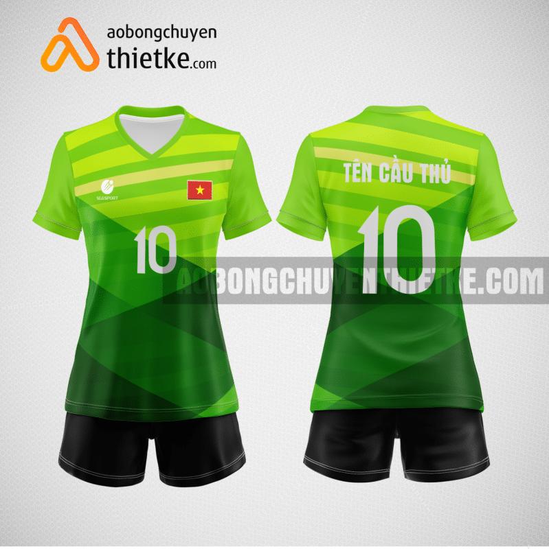 Mẫu áo bóng chuyền đội tuyển đức BCN460 nữ