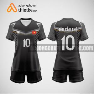 Mẫu áo bóng chuyền đội tuyển nga BCN457 nữ