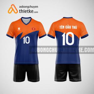 Mẫu áo bóng chuyền thiết kế ngân hàng ACB BCN120 nam