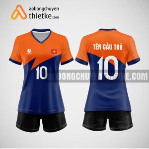 Mẫu áo bóng chuyền thiết kế ngân hàng ACB BCN120 nữ